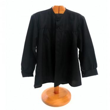 Blusón negro para fiestas niño