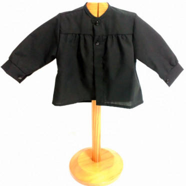 Blusón negro para fiestas bebé
