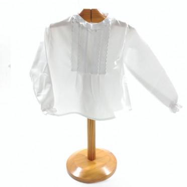 Blusa regional blanca