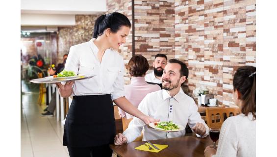 El delantal corto para camarero perfecto
